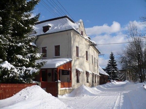 "Pension ""Mencl"" - im Winter"