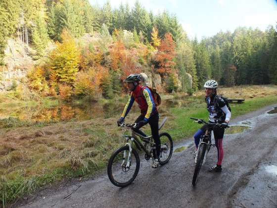 Classical Mountain bike tour in Bohemian Switzerland National Park