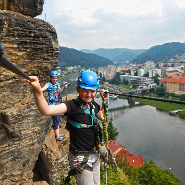 Multiactivity holidays in Bohemian Switzerland - CK Enthusia